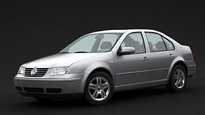 3D Volkswagen Bora 1999