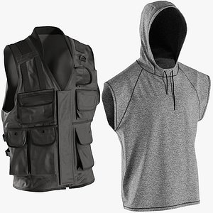3D realistic vests 5 collections