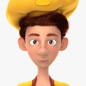 Cartoon Baker 3D