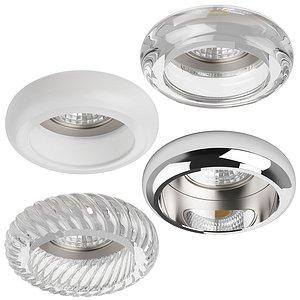 3D 00620x Tondo Lightstar Recessed spotlight