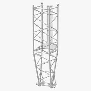 crane l pivot section 3D model