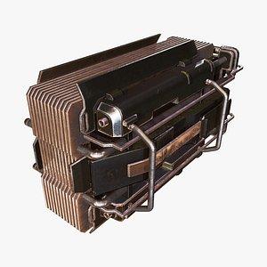 Engine Control B 3D model