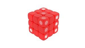 3D model Rubiks Dice