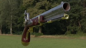 Harpers ferry flintlock 3D