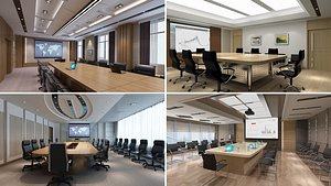 3D model Conference Room Collection 2