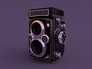 Children's camera kaleidoscope toy old camera stereo