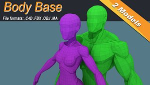 Low Poly Stylized Basemeshes Isometric Icon Low-poly 3D model 3D model