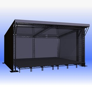 stage outdoor 3D