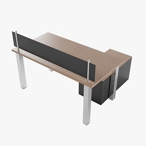 desk pbr metalic 3D model