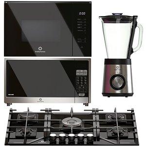 Indurama kitchen appliances set model