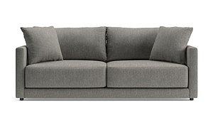 3D gather petite sofa