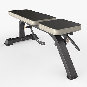 3D bench adjustable weight