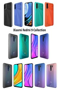 3D xiaomi redmi 9 collections