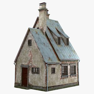 3D Old house 01