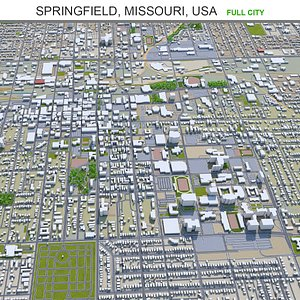 3D Springfield Missouri USA