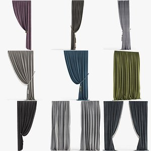 Collection of Curtains 3D