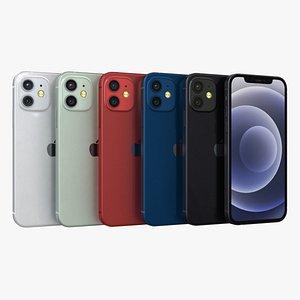 3D model iphone 12 apple