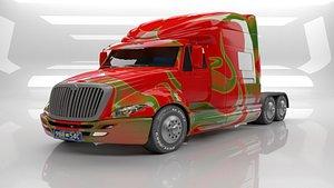 3D Trailler Truck Consept