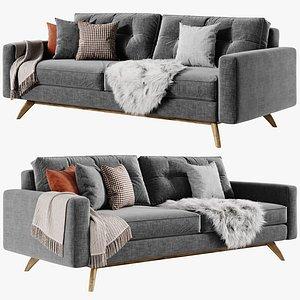 Alfinch Etch Bolts Sofa 3D model