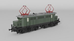 3D german electric locomotive
