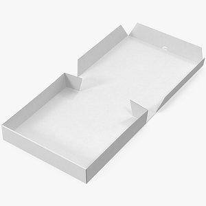 pizza box mockup 3D model