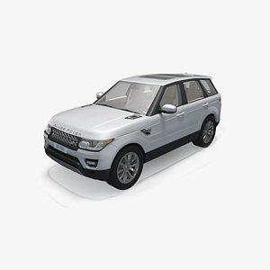 land rover sport 3D model
