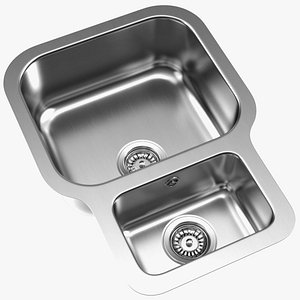 Undermount Double Bowl Kitchen Sink model