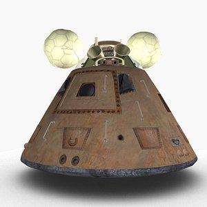 Command capsule 3D