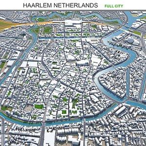 3D Haarlem Netherlands model