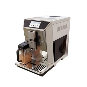 3D coffee delonghi maker model