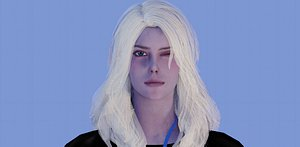 CompanyWoman - Character Low-poly 3D model 3D model