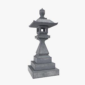 asian stone model