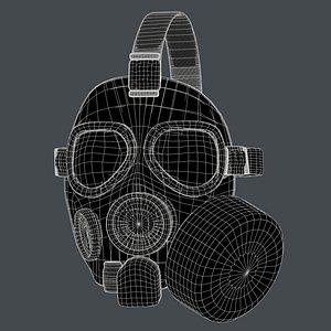 3d realistic male head