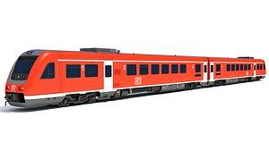 3D train db model