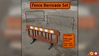 Fence Barricades Pack