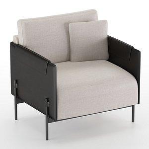 3D aston armchair