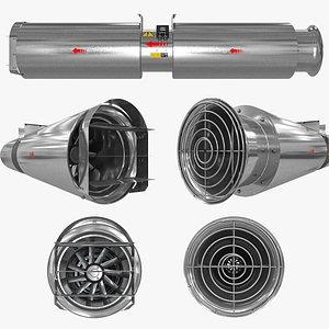 3D model Thrust Jet Fan