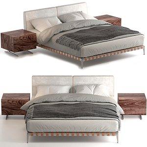 3D model gregory bed