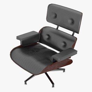 3D eames lounge classic chair model