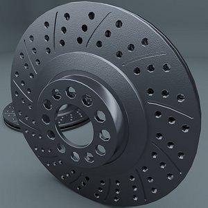 3D brake disks