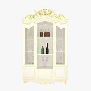 3D Cabinet White model