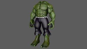 hulk ready print different 3D