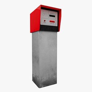 3D model parking machine