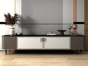 3D model TV cabinet