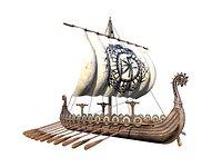 The Long Viking Ship