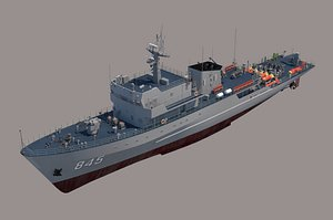 081 countermeasure 3D model