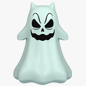 3D cartoon ghost toon