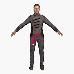 chairman man 3D model