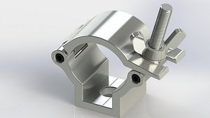 clamp pipe 3D model