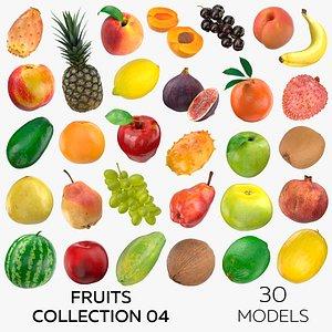 3D Fruits Collection 04 - 30 models model